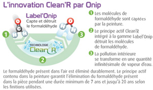 innovation cleanr peinture depolluante