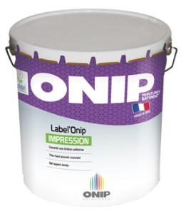 Peinture depolluante LabelOnip Impression
