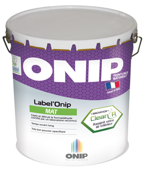 Label'Onip Mat Clean'R